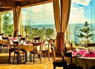 Vista panorámica del Hotel Mirador - Barrancas del Cobre